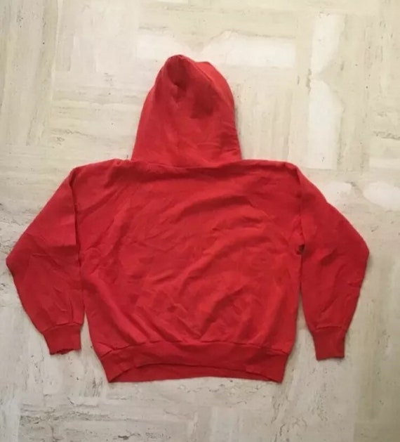 Vintage 70s Russell gold tag Medina NY Hoodie The… - image 2