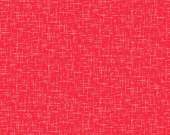 Red Roving Texture # CX9213-RED - Michael Miller Wanderlust by MMF Collection - cotton quilting fabric - by the yard - 1 yard cut