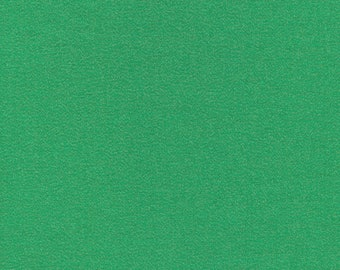 Cloud 9 - Glimmer Solids - Emerald - Organic cotton quilting fabric - by the yard - 1 yard cut
