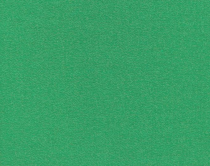 Cloud 9 - Glimmer Solids - Emerald - Organic cotton quilting fabric - by the yard - 1 yard cut