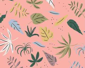 Cloud 9 - Garden of Eden - Purity - Louise Cunningham - Organic cotton quilting fabric - by the yard