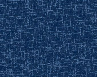 Navy Roving Texture # CX9213-NAVY - Michael Miller Wanderlust by MMF Collection - cotton quilting fabric - by the yard - 1 yard cut