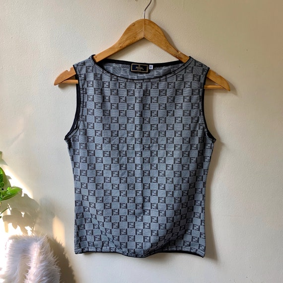 Authentic Vintage Fendi zucca top