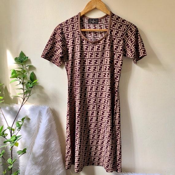 Fendi Zucca Dress