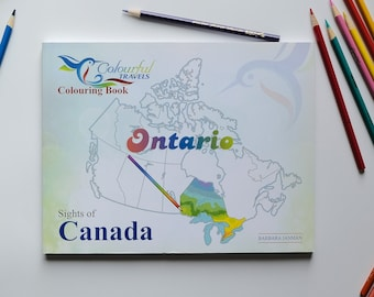 Ontario - Sights of Canada Activity and Colouring Books for Children and Adults