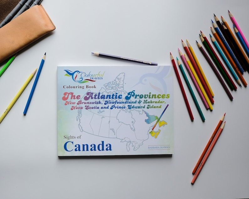 The Atlantic Provinces  Sights of Canada Activity and image 0
