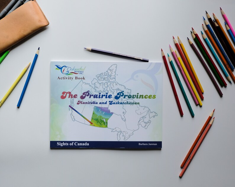 The Prairie Provinces  Sights of Canada Activity and image 0
