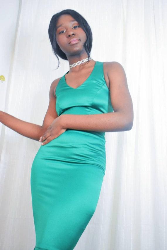 Emerald Green Mermaid Dress
