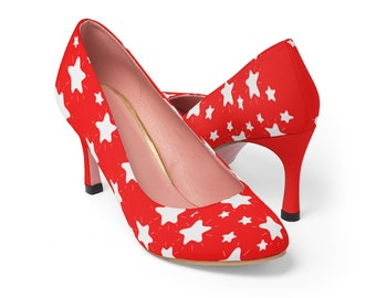 red dressy heels