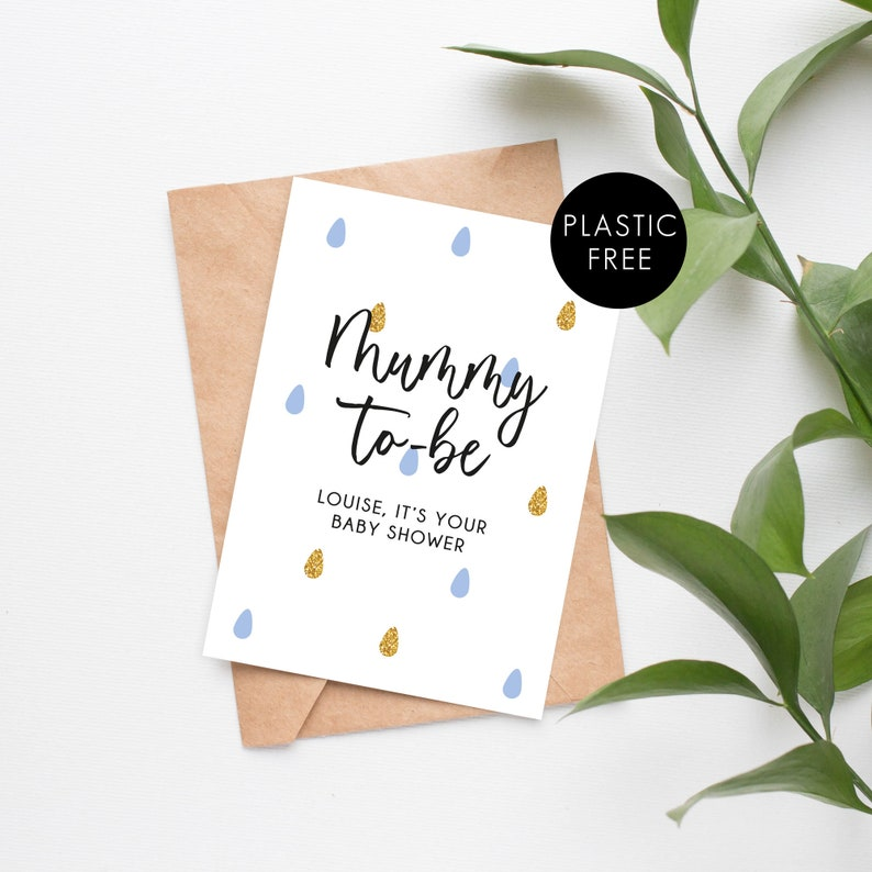 New Mum Card Personalised Baby Shower Greeting Card New Baby Girl Card Mummy-To-Be Card New Baby Boy Card New Parent Card
