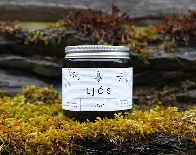 LOGN - essential oils scented candle 100g