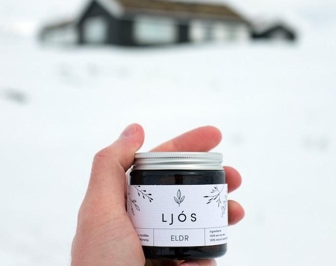 ELDR - essential oils scented candle