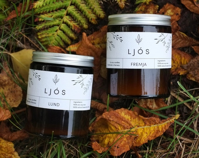 M - a bundle of two, three, or four soy wax candles of your choice