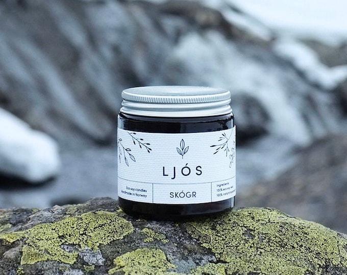SKÓGR - essential oils scented candle
