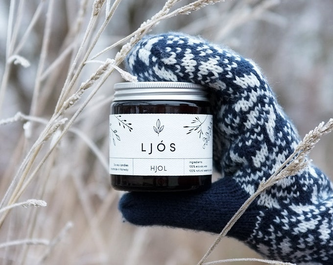 HJOL - essential oils scented candle