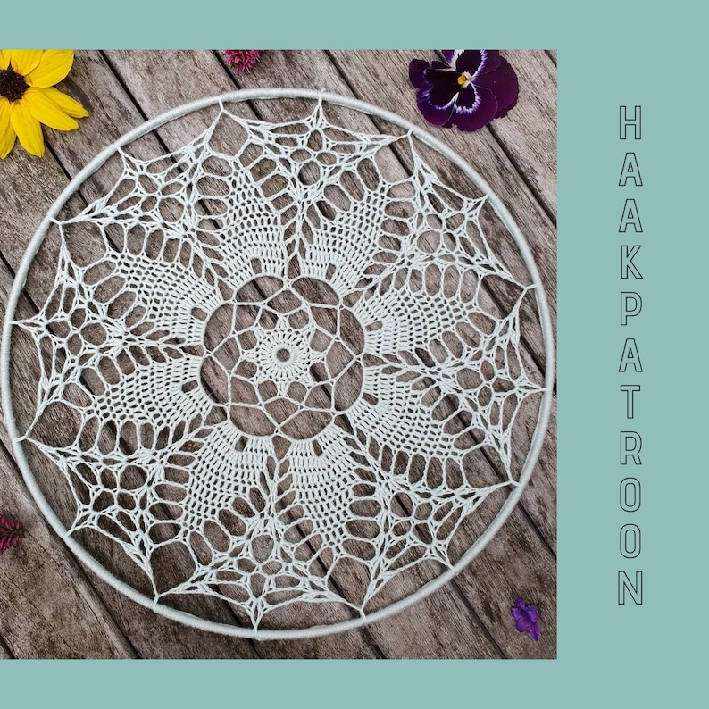 Mandala haakpatroon Nederlands mandala haken patroon haken image 1