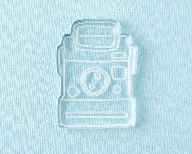 Handmade Mold 6mm Casting Mold Silicone Mold for Resin Polaroid Camera Mold