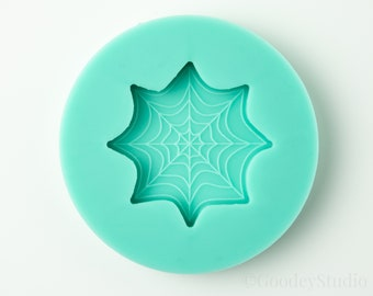 Spider Web Mold, Silicone Mold for Resin, 6mm Casting Mold, Handmade Mold
