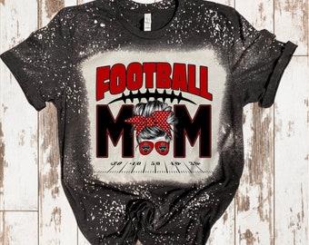 Bleached Football Mom/ Sports Mom/ Football Mom/ Sports svg/ Football svg