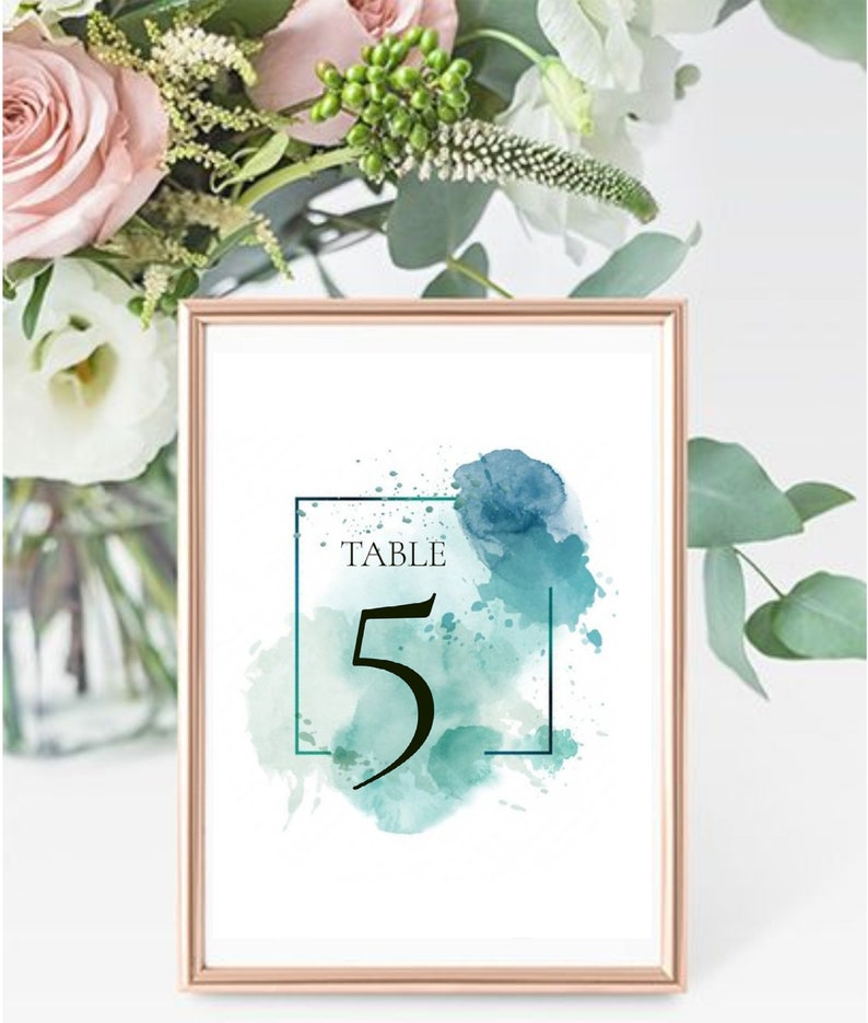 Knight table and placeholder for wedding or events stationary Numbers Tables tableau marriage coordinated charts