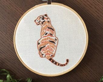 Stylised Tiger Hoop