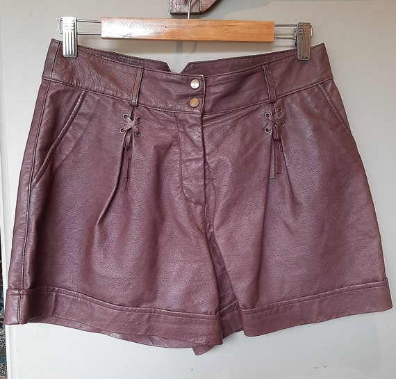 River Island Leather Shorts * Genuine Leather Shor