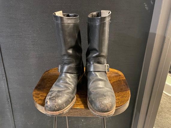 1960's Vintage Engineer Boots