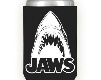 Shark Neoprene Can Cooler