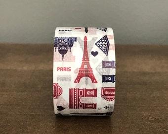 Paris Landmarks Washi Tape 3cm x 5m