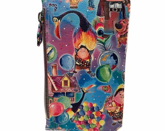 Myka Jelina Lucy Steampunk zippered pouch wristlet travel bag,
