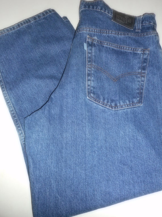 Silver Tab, Men's Levi's Jeans 38 X 30 Loose, Bagg
