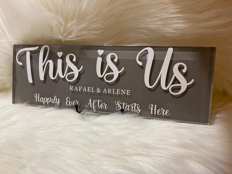 Couples decorative Plaque