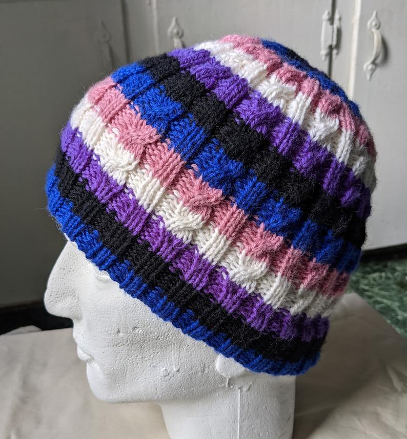 large Genderfluid pride hat