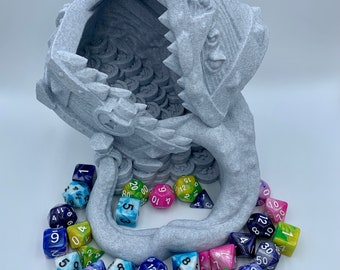 Mimic Chest Dice Tower by Ars Moriendi (D&D, Dungeons and Dragons, Tabletop gaming, Dice rolling tower, 3D Printed)