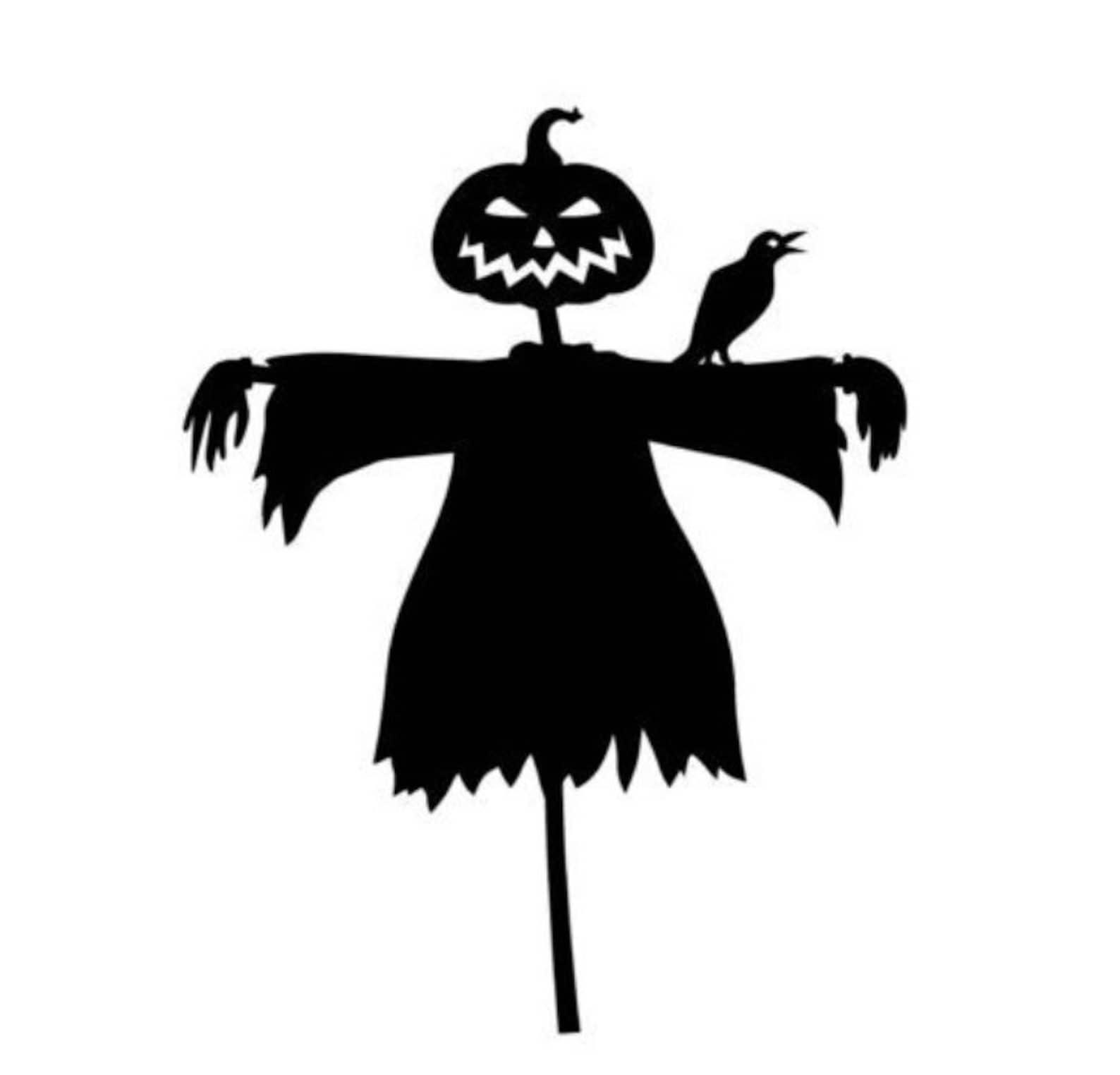 Spooky Scarecrow Halloween Home Decor