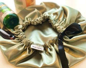 Adjustable & Reversible Satin Bonnet