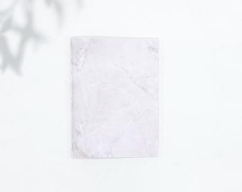 Saddle Stitch Notebook - Black Owned Notebook - Travelers Notebook Insert - Pocket Notebook - Self Care Journal - Marble Notebook