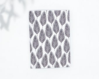 Saddle Stitch Notebook - Black Owned Notebook - Travelers Notebook Insert - Pocket Notebook - Self Care Journal