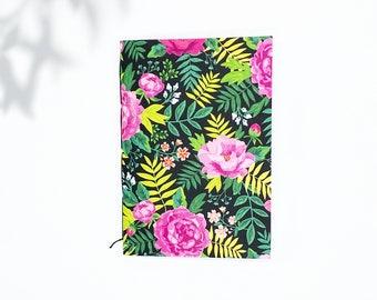 Saddle Stitch Notebook - Black Owned Notebook - Travelers Notebook Insert - Pocket Notebook - Self Care Journal - Floral Notebook