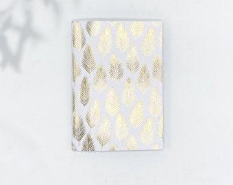 Saddle Stitch Notebook - Black Owned Notebook - Travelers Notebook Insert - Pocket Notebook - Self Care Journal - Foil Notebook