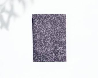 Saddle Stitch Notebook - Black Owned Notebook - Travelers Notebook Insert - Pocket Notebook - Self Care Journal - Black Notebook