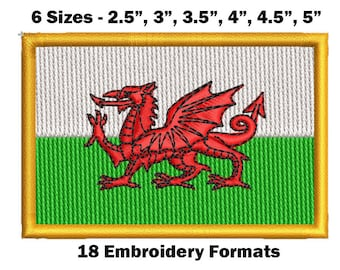 ENGRAVED FREE Emblems-Gifts Personalised Event 5 Inch Red Plaque Wales Flag Welsh Dragon Award Sports Trophy
