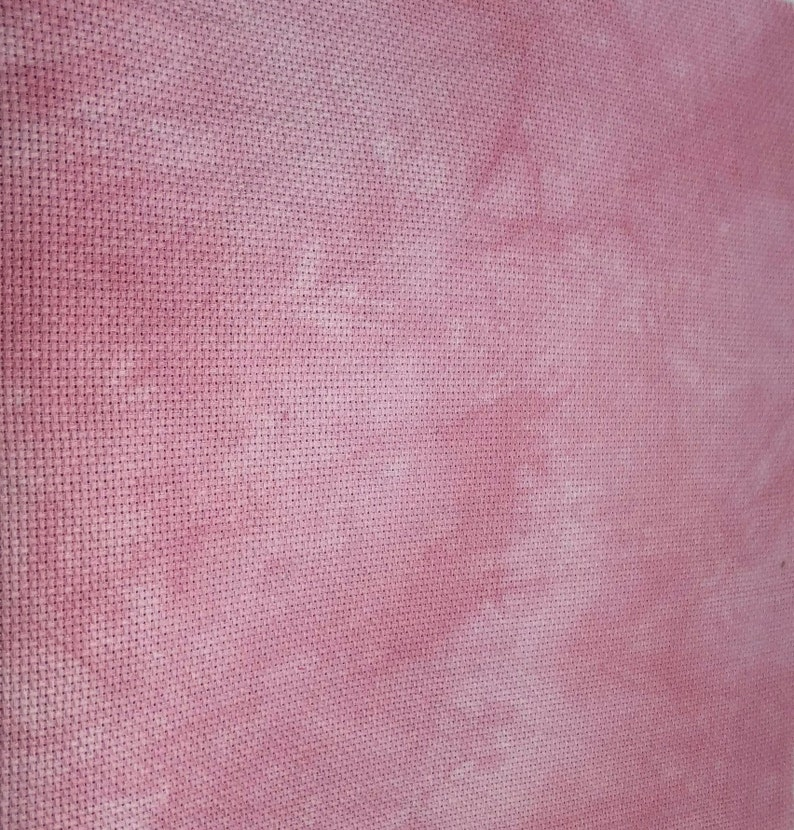 Think Pink Sparkly 14-Count Hand-dyed Artisan AIDA