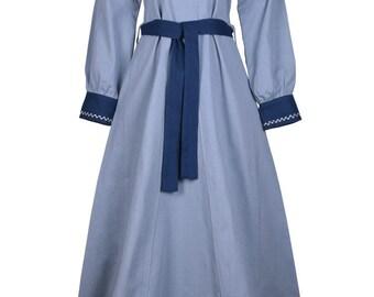 Blaues Kleid Etsy