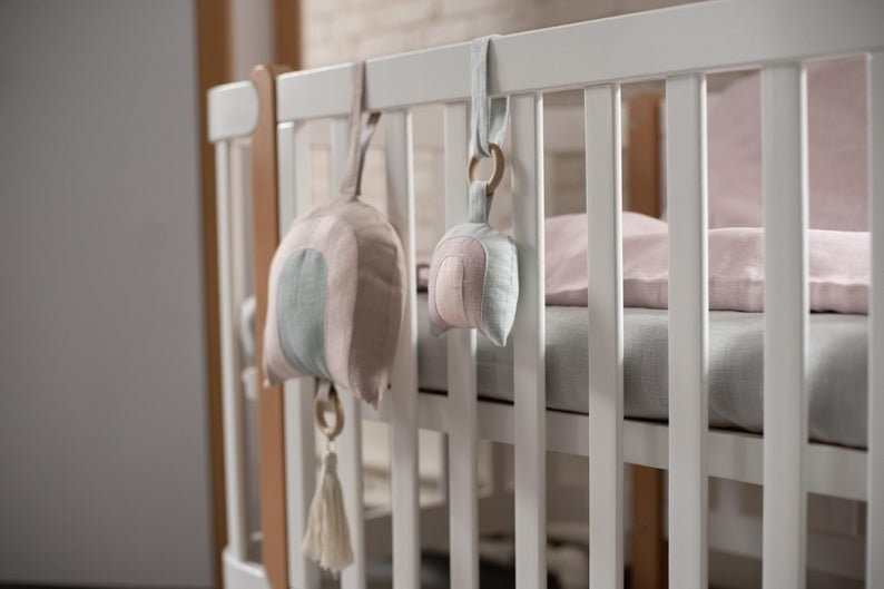 New Home Gift Pennant Room Decor Stroller Toy Nursery Decor,Car Seat Toy Bird Linen Decor Bird Wall Hanging Kids Room D\u00e9cor Crib Toy