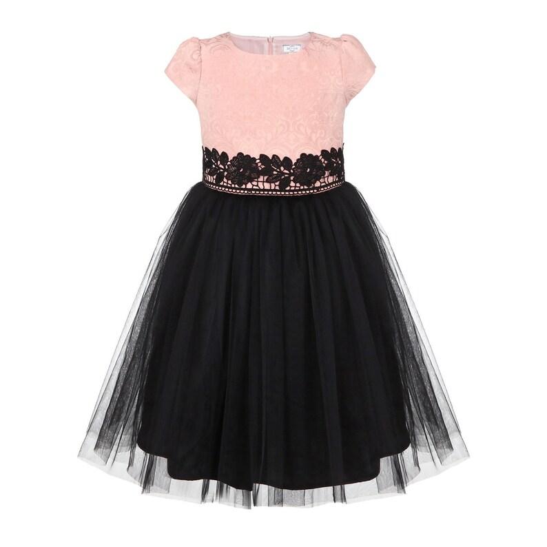 Gown for little girls Fancy dress Holiday party dress Birthday dress Party dress girl Wedding dress Cristmas princess girl dress