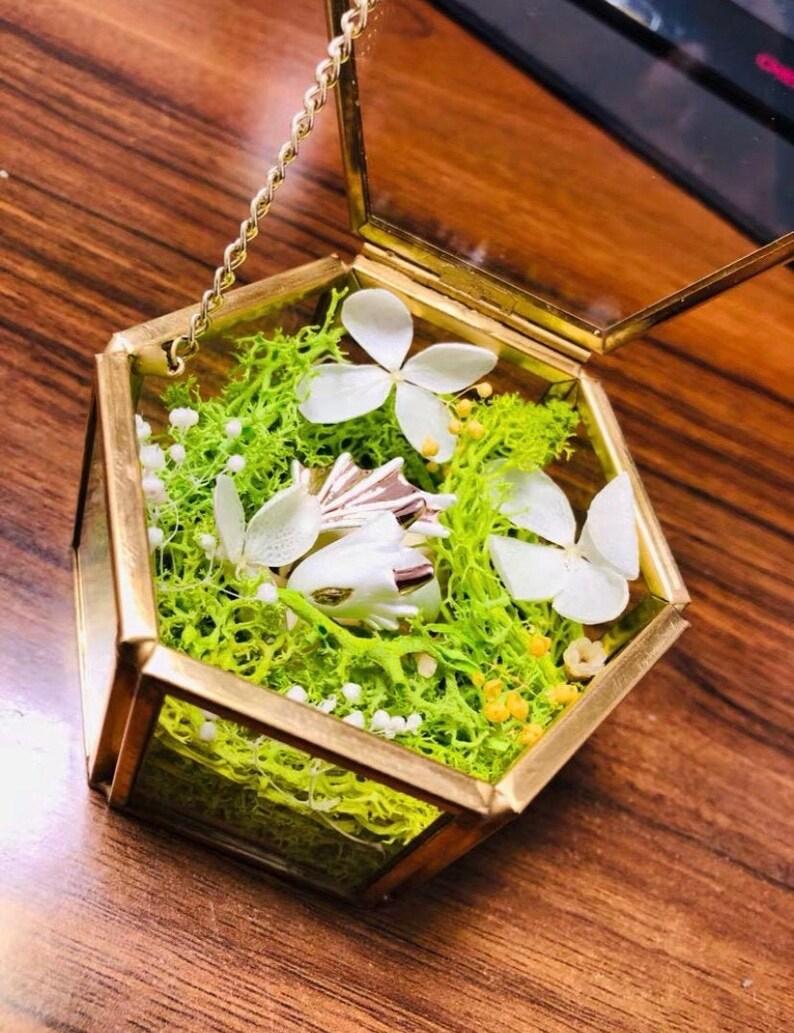 DIY flower ring box,Musical Personalised Jewellery Box ring box Baby Girl Jewellery Box DIY Jewelry box Ballerina Jewellery Box