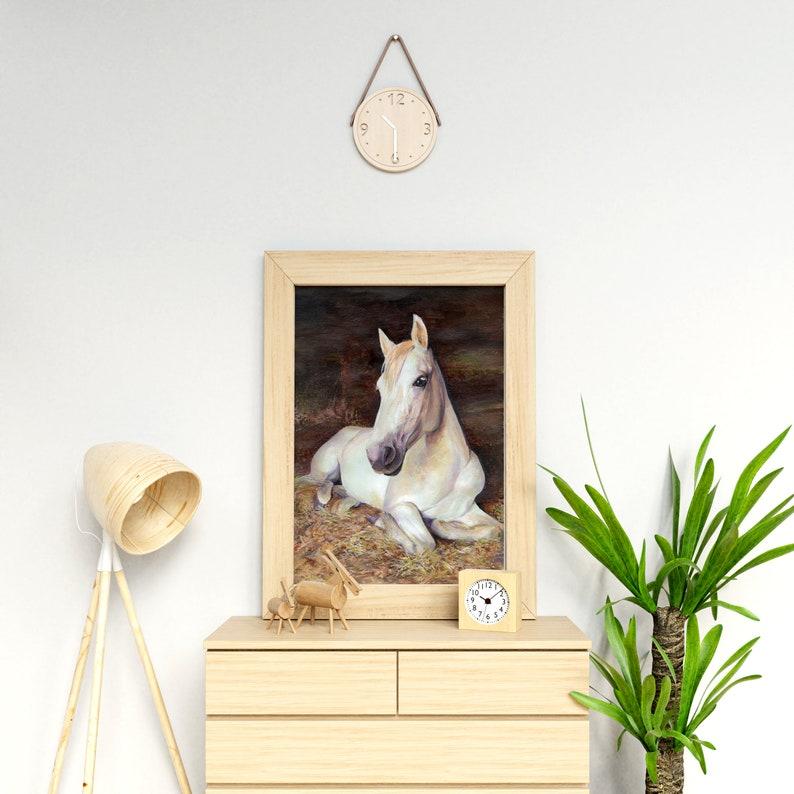Custom horse painting from photo Pet loss portrait Custom pet portrait drawing