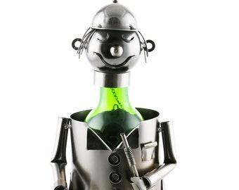 Wine Bodies golfer wine bottle holder