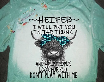 Hotkey Dont BE A Salty HELFER T-Shirts for Women Crewneck Short Sleeve Tops Cute Animal Printed Tee Top Blouses for Teens